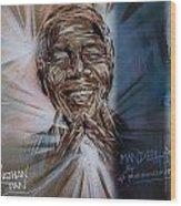 Mandela Wood Print