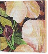 Mandevilla Wood Print