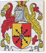 Mandeville Coat Of Arms Irish Wood Print