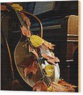 Mandolin Autumn 2 Wood Print