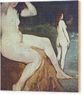 Manet, �douard 1832-1883. Bathers Wood Print