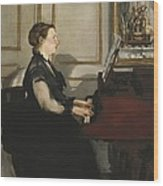 Manet, �douard 1832-1883. Madame Manet Wood Print