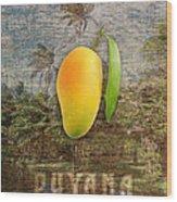 Mango Season Wood Print