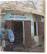 Mangrove Bar And Restaurant Wood Print