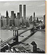 Manhattan 1978 Wood Print