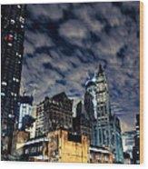 Manhattan Bound Version A Wood Print