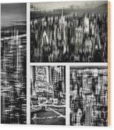 Manhattan Collection II Wood Print