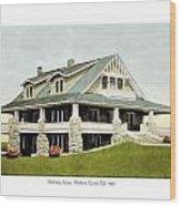 Manhattan Kansas - Manhattan Country Club - 1920 Wood Print