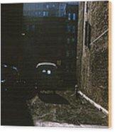 Manhattan Mystery Wood Print