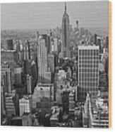 Manhattan Nyc Wood Print