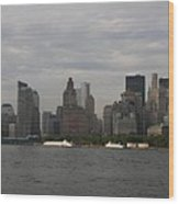 Manhattan Skyline 2010 Wood Print