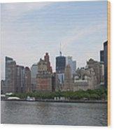 Manhattan Skyline Wood Print