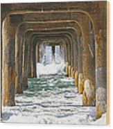 Manhattan Surf Wood Print