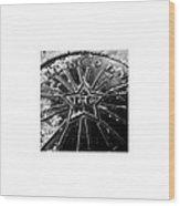 Manhole_11.04.12 Wood Print