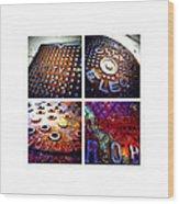 Manholes_06.02.12 Wood Print