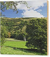 Manifold Valley And Dovecote - Swainsley Wood Print