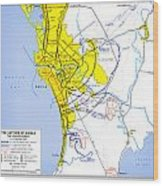 Manila 1945 Capture Of Manila Us Wood Print