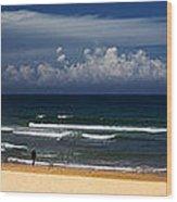 Manly Beach panorama Wood Print