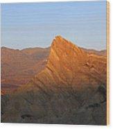 Manly Peak Death Valley Wood Print