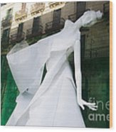 Mannequin In Barcelona Wood Print by Victoria Herrera