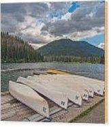 Manning Parks Lightning Lake Wood Print