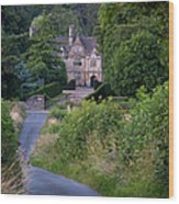Manor House - Cotswolds Wood Print