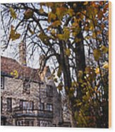 Manor Wood Print