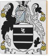 Mansfield Coat Of Arms Irish Wood Print