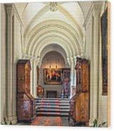 Mansion Hallway IIi Wood Print