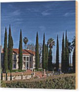 Mansion Wood Print
