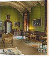 Mansion Lounge Wood Print