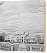 Mansion Rye New Hampshire Open Edition Wood Print