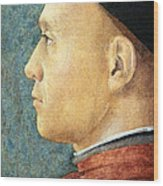 Mantegna's Portrait Of A Man Wood Print
