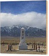 Manzanar National Historic Site Wood Print