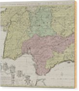 Map Of South Of Spain.Map Of The South Of Spain And Portugal Johannes Covens By Johannes Covens And Cornelis Mortier