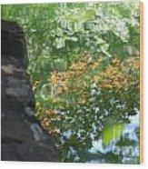 Maple Reflections Wood Print