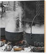Maple Syrup Pioneer Style Wood Print