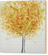 Maple Tree 1 Wood Print