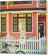 Maple View Manor Wood Print