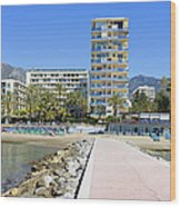 Marbella Resort In Spain Wood Print