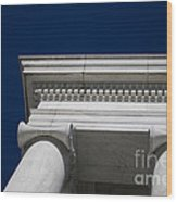 Marble Architecture Wood Print
