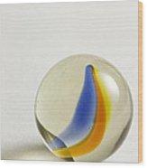 Marble Cat Eye 2 Wood Print