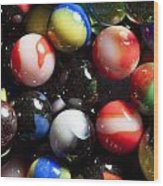 Marble King Marbles 1 Wood Print