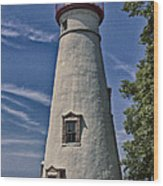 Marblehead Lighthouse Lake Erie Wood Print