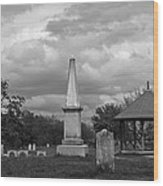 Marblehead Old Burial Hill Cemetery Wood Print