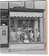 Marcel Beauty Shop Wood Print