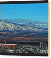 March In New Mexico Wood Print