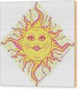 March Miss Patty Sun Wood Print