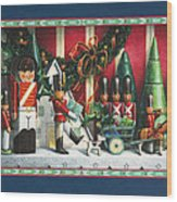 March Of The Wooden Soldiers Wood Print