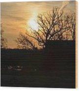 March Sunrise3 Wood Print by Jennifer  King